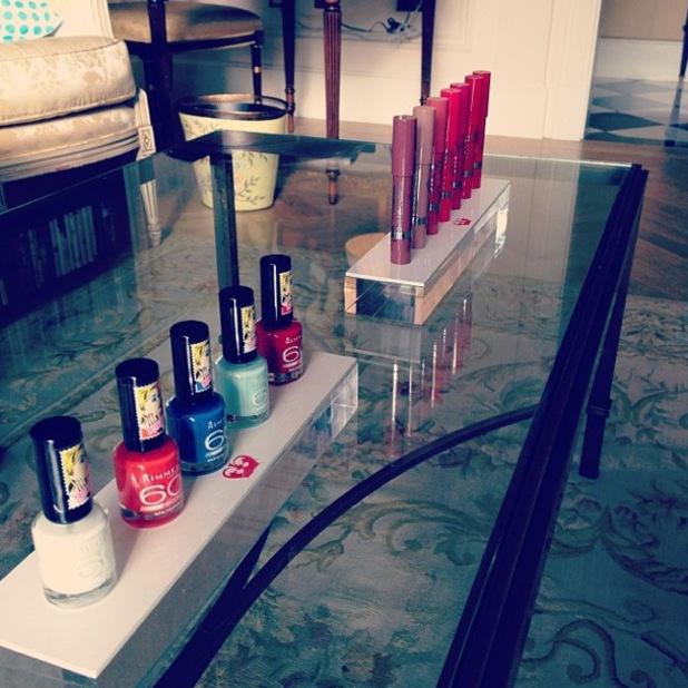 Rita Ora for Rimmel London nail polishes and lipsticks - 10 October 2013
