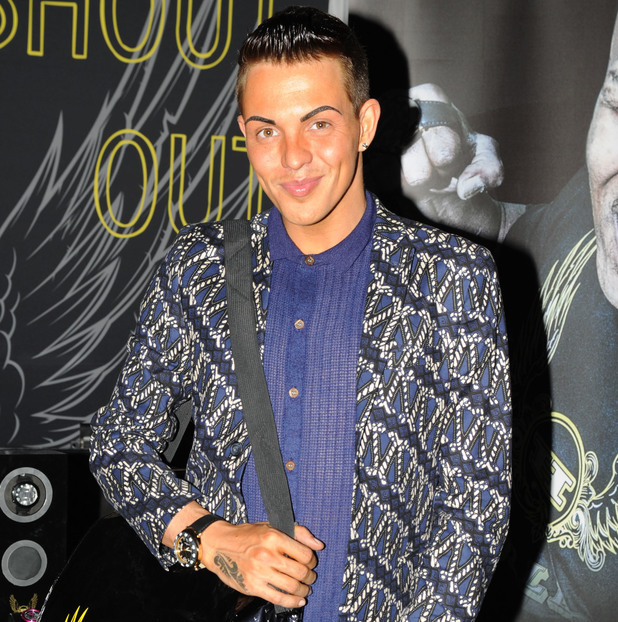 Essex Fashion Week 2013 at The City Pavilion - Arrivals - TOWIE's Bobby Norris