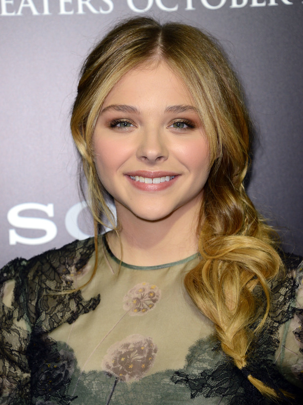 Chloe Grace Moretz, Premiere of Metro-Goldwyn-Mayer Pictures' and Screen Gems' CARRIE at Arclight Cinemas Hollywood. 7 October 2013