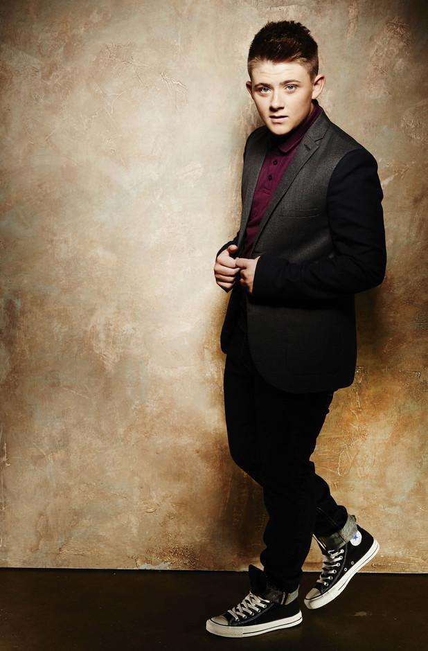 X Factor Top 12 contestants Nicholas McDonald