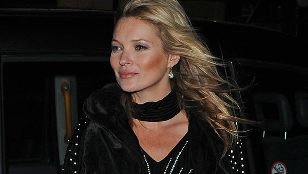 Kate Moss attends 180 years of cool RImmel part 10/10/13