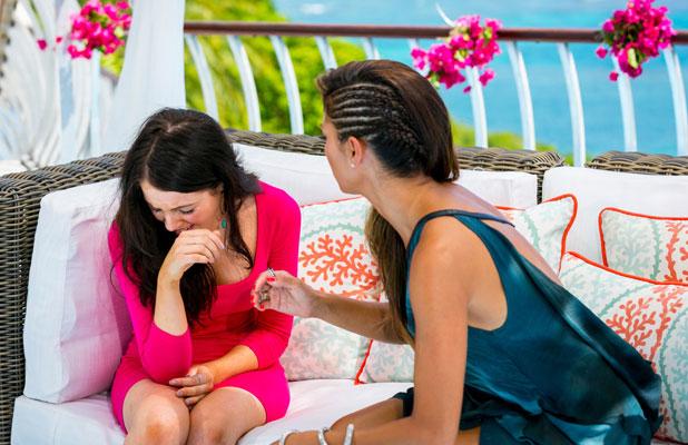 'The X Factor' Judges Houses, TV Programme - Oct 2013 Melanie McCabe and Nicole Scherzinger