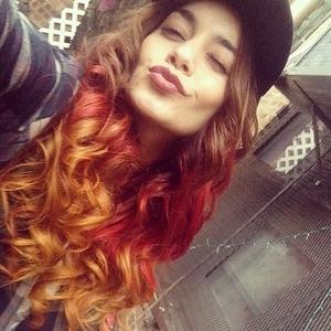 Vanessa Hudgens new hair Instagram - October 2013