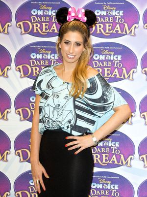Disney on Ice presents 'Dare to Dream' at Tower of London, London, Britain - 14 Oct 2013 Stacey Solomon 14 Oct 2013