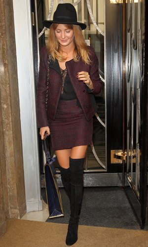 Millie Mackintosh Out and About in London, Britain - 16 Oct 2013