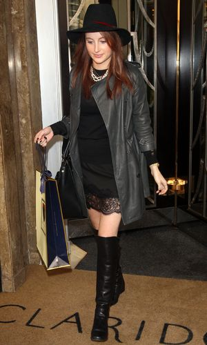 Rosie Fortescue Out and About in London, Britain - 16 Oct 2013