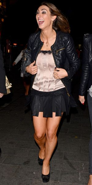 Luisa Zissman out and about in London, Britain - 16 Oct 2013