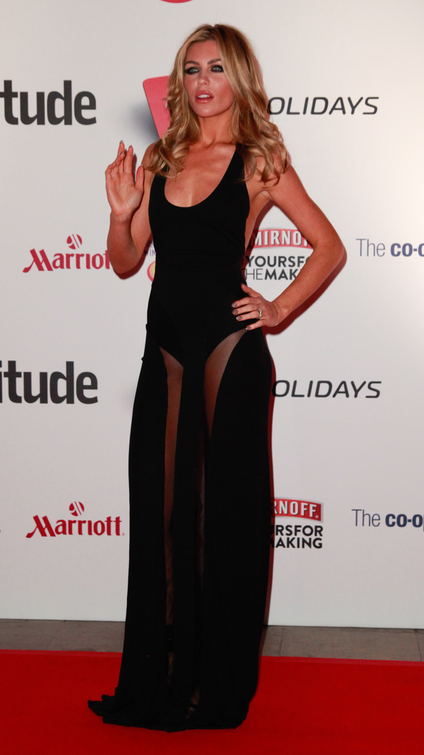 The 2013 attitude Awards at the Royal Courts of Justice, London - 15.10.2013 Abbey Clancy