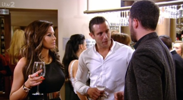 TOWIE (13 October) Jessica Wright, Ricky Rayment and Elliott Wright