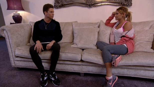 Sam and Joey have a heart to heart about their relationship, TOWIE episode 20 October 2013