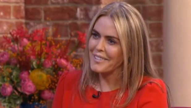 Patsy Kensit on ITV's This Morning