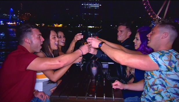 Geordie Shore cast go out clubbing - episode 5. October 2013