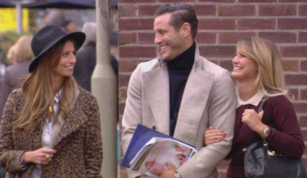 TOWIE episode (Wednesday 16th October 2013) Ferne McCann, Sam Faiers and Elliott Wright go house hunting