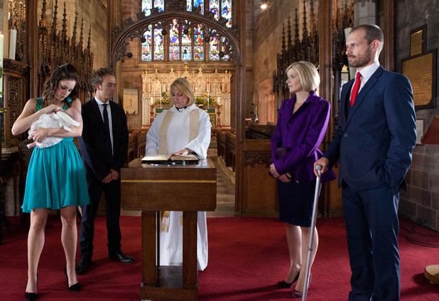 Corrie, Lily's christening, Wed 16 Oct