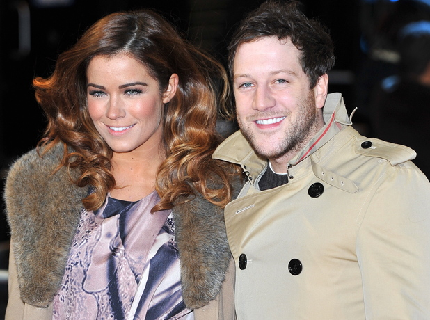 Matt Cardle and Sarah Robinson The Girl With The Dragon Tattoo - World Premiere held at the Odeon Leicester Square - Arrivals. London, England - 12.12.11