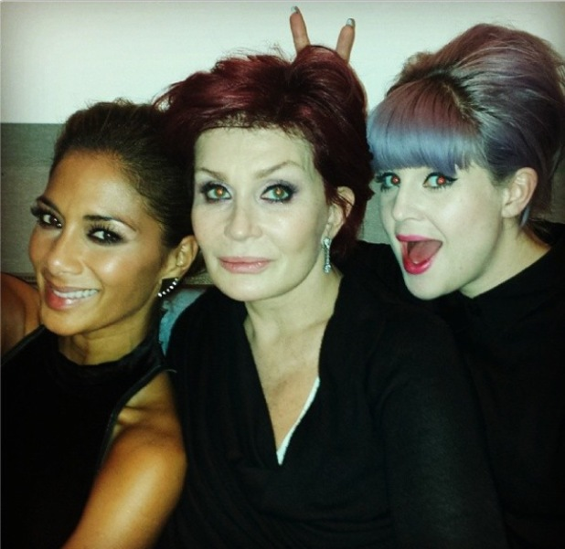 X Factor judges hang out at The Arts Club in London after first live show weekend - 13 October 2013
