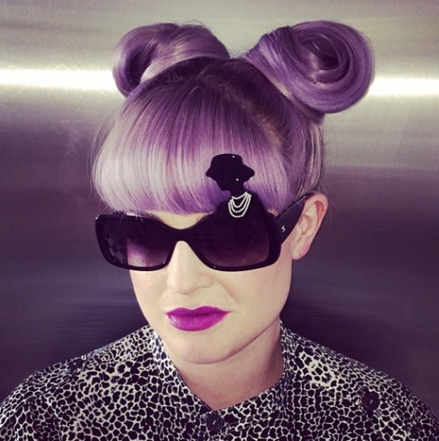 Kelly Osbourne rocks Coco Chanel sunglasses