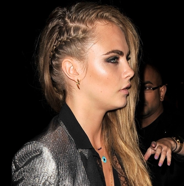Towie S Lauren Pope Channels Cara Delevingne Hair With Fab