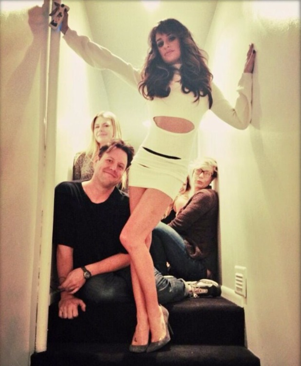 Glee's Lea Michele shoots her debut album cover - 13 October 2013