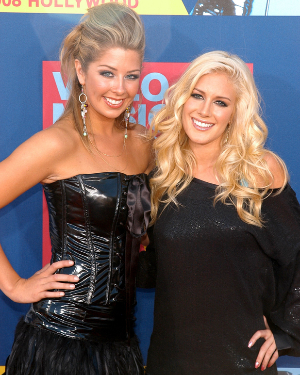 Heidi Montag and Holly Montag: 2008 MTV Video Music Awards - Arrivals Los Angeles, California - 07.09.08
