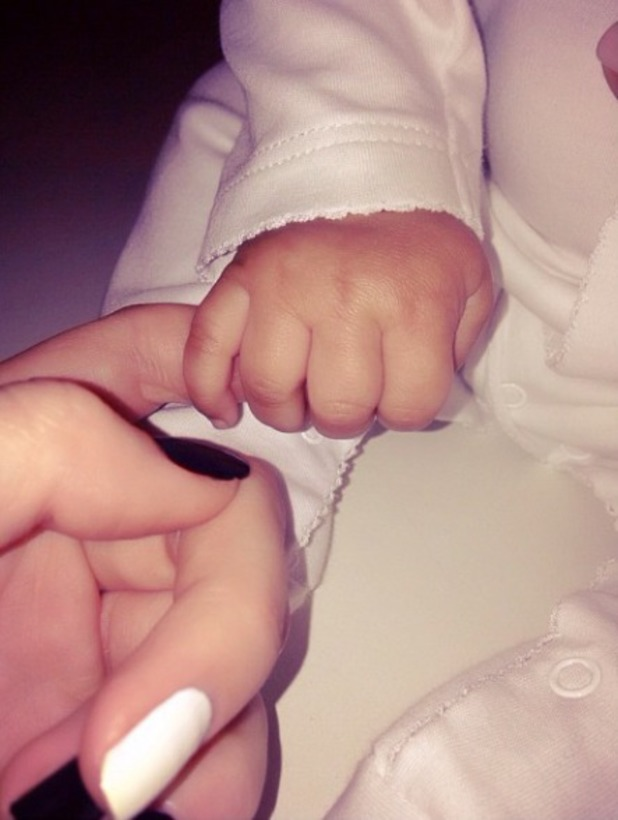 Kendall Jenner posts picture holding niece North West's hand on Instagram, 19 Oct