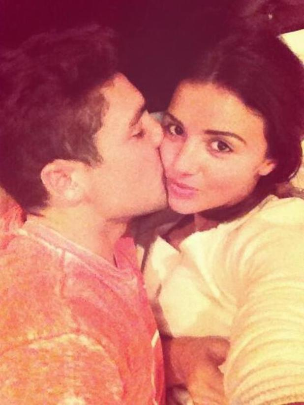 TOWIE's Lucy Mecklenburgh gets cosy in bed with co-star Tom Pearce