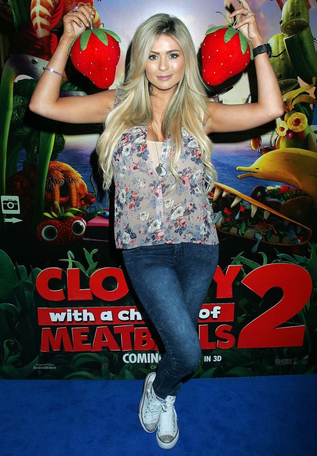 'Cloudy with a Chance of Meatballs 2' film screening, London, Britain - 12 Oct 2013 Nicola McLean