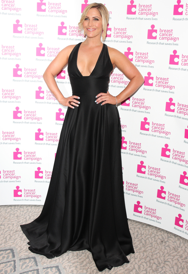 Heidi Range - Pink Ribbon Ball in aid of Breast Cancer Campaign at the Dorchester Hotel Park Lane London, 12 October 2013