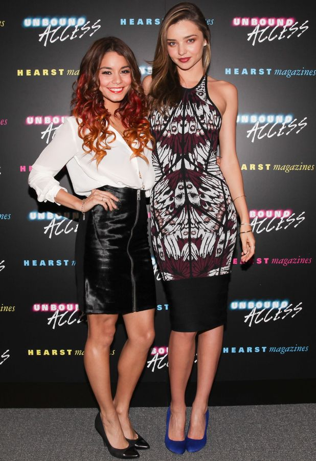 Vanessa Hudgens, Miranda Kerr - Unbound Access Presented by Hearst Magazine, New York, America - 15 Oct 2013