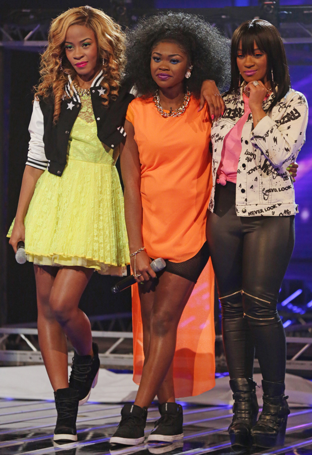 Miss Dynamix on X Factor Live Show 12 October 2013