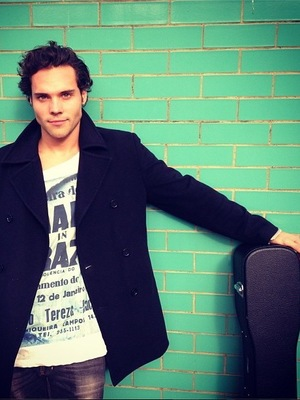 Made In Chelsea's Andy Jordan - photo shoot for music