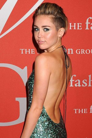 Miley Cyrus - 30th Annual Night of Stars, New York, America - 22 Oct 2013