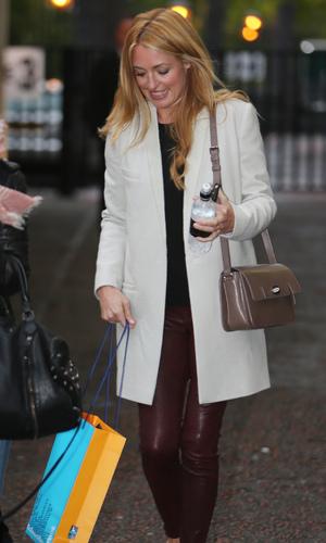 Cat Deeley outside the ITV studios - 21.10.2013