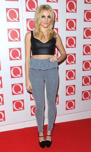 Pixie Lott, Q Awards, Grosvenor House Hotel, London, Britain - 21 Oct 2013