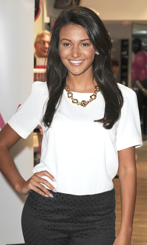 Michelle Keegan opens a new Sally store on New Oxford Street Person In Image:Michelle Keegan Credit :WENN.com Date Created : 09/12/2013 Location : London, United Kingdom
