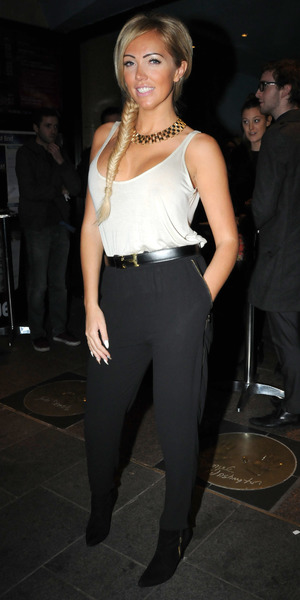 Premiere of 'Its a Lot' held at the Vue West End - 21.10.2013 - Aisleyne Horgan-Wallace