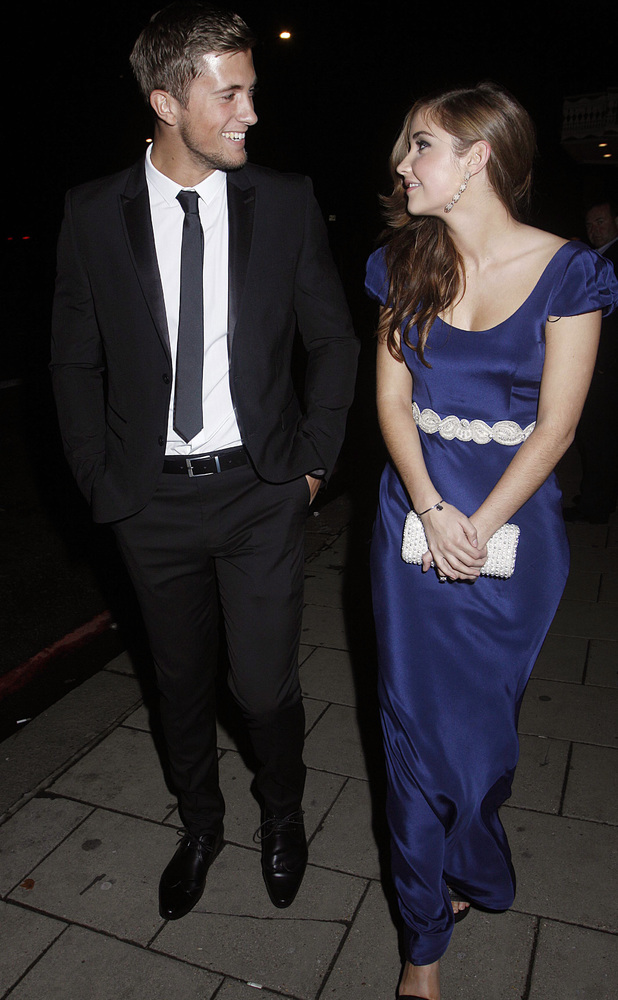 Jacqueline Jossa, Dan Osborne - TV Choice Awards departures, London, Britain - 09 Sep 2013