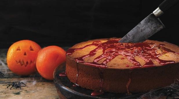 Sticky orange yoghurt cake