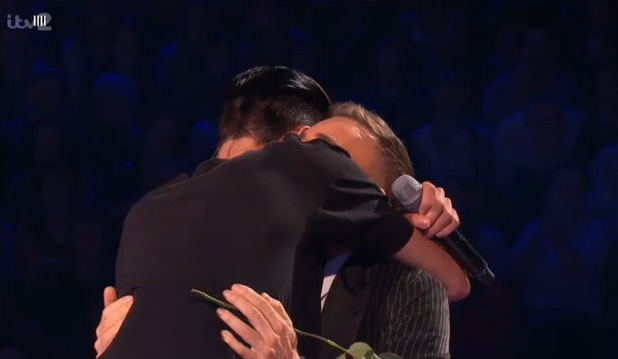 Rylan Clark and Gary Barlow on The Xtra Factor (20 October)