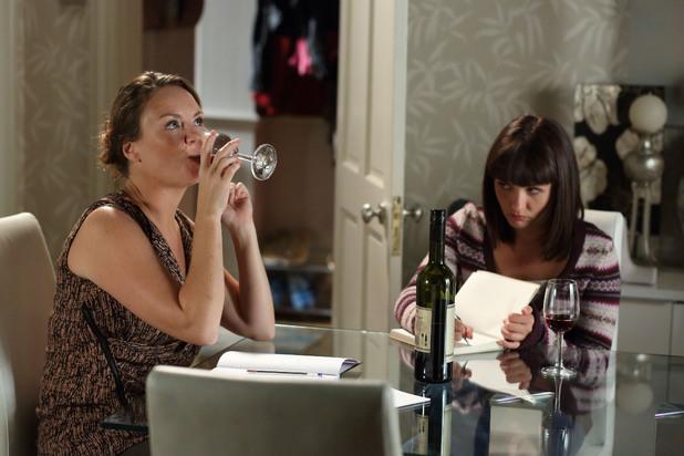 EastEnders, Alice goes to drug Janine, Fri 25 Oct
