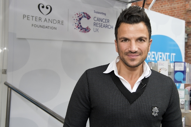 Peter Andre launches Pete's Champions, as part of his foundation to raise money for Cancer Research UK - 2013