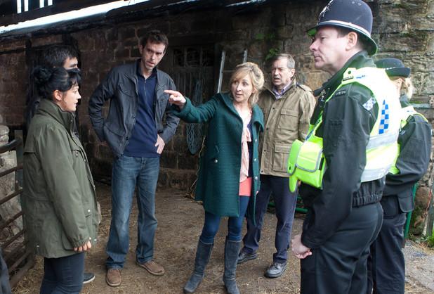 Emmerdale, Laurel is arrested, ITV, Tue 29 Oct