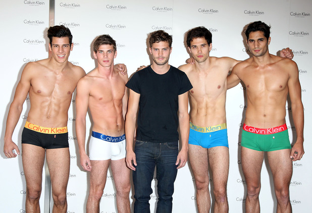 Jamie Dornan launches Calvin Klein casting event for '9 countries, 9 men, 1 winner' held at House of Fraser London, England - 05.09.09