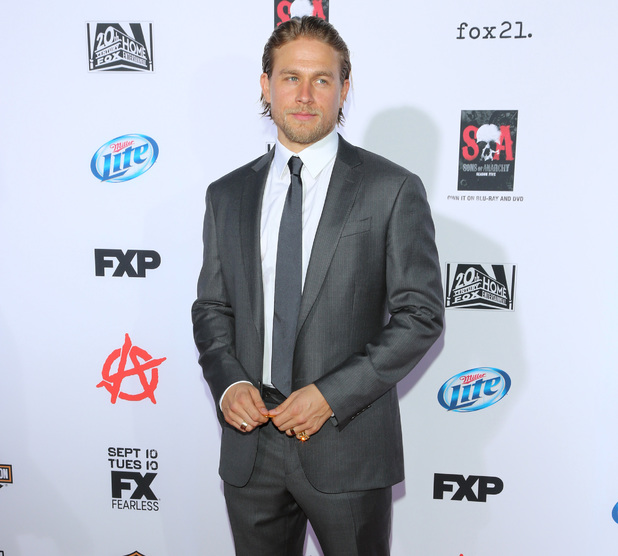 "FX's ""Sons Of Anarchy"" Season 6 Premiere Screening Held at Dolby Theatre - 8.9.2013 Charlie Hunnam"