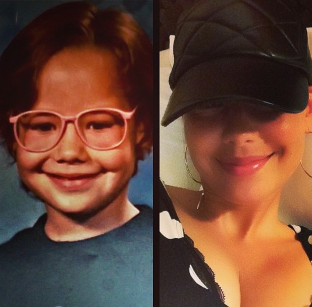 Amber Rose shares child picture of herself aged five - 21 October 2013