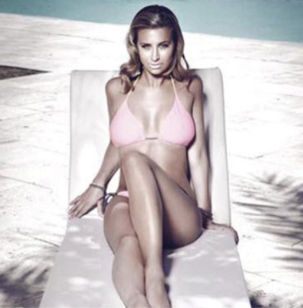 TOWIE's Ferne McCann shows off her bikini body in the official calendar 2014