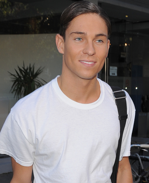 Joey Essex - Celebrities arriving at the Riverside Studios to film a episode of TV show Celebrity Juice - 23 October 2013