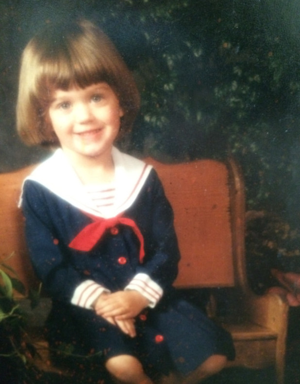 Katy Perry shares old childhood photo