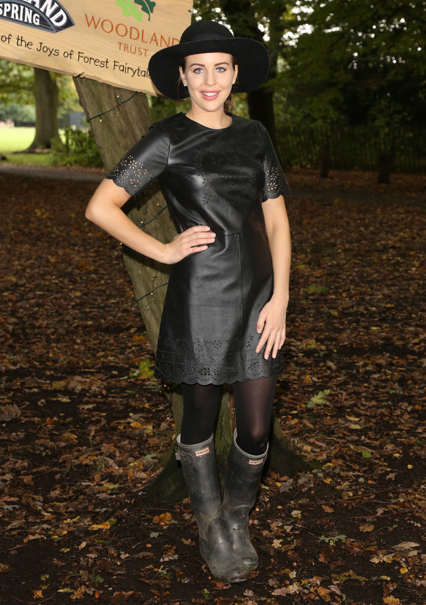 Forest Fairytales - launch event held in Highgate Woods Lydia Bright Credit :	Lia Toby/WENN.com