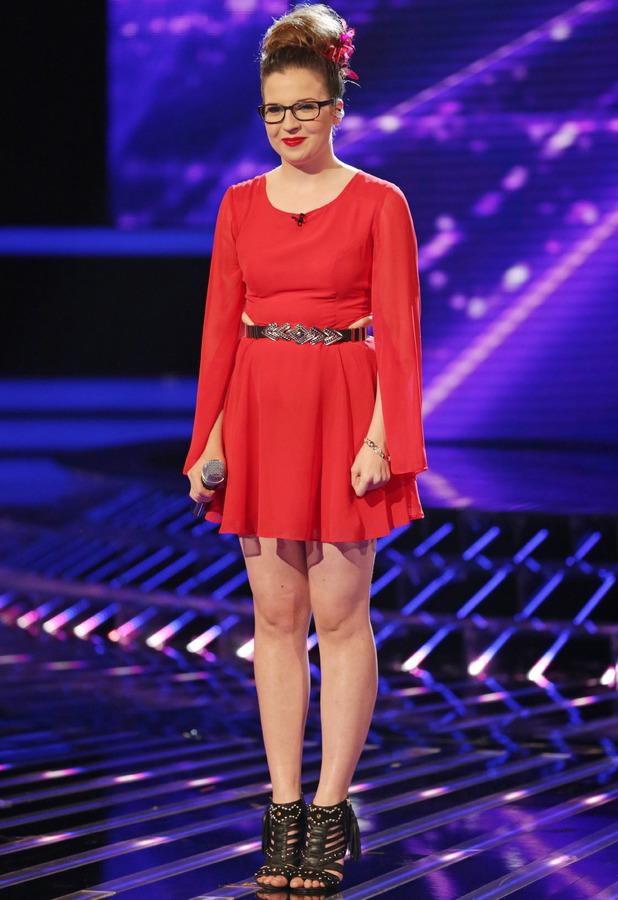 Abi Alton - 'The X Factor' TV show, London, Britain - 19 Oct 2013